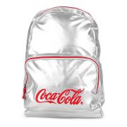 Mochila Para Notebook Coca Cola Silver 7118104