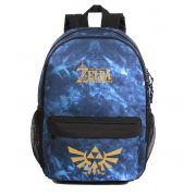 Mochila Zelda The Legend para Notebook Overprint Azul 11548