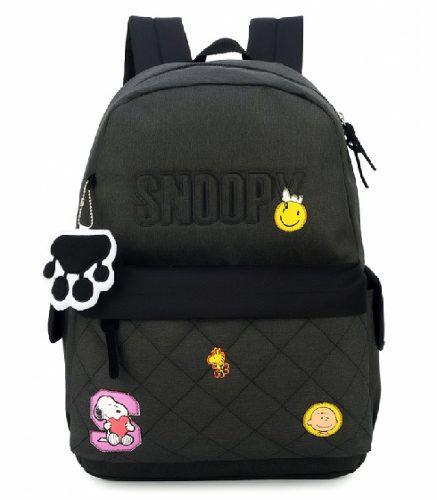 0ae908c1f Mochila Feminina para Notebook Snoopy Grafite MJ48508SN - Mix das Mochilas