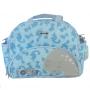 Bolsa Maternidade Hug G Meus Dinos Com Trocador Azul