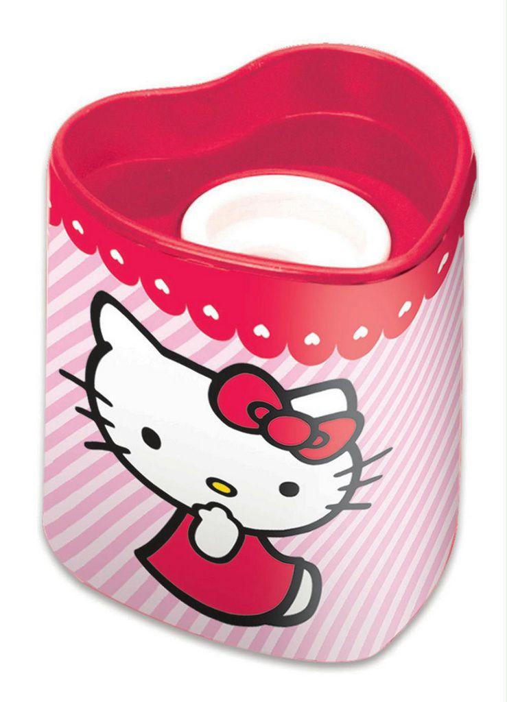 Apontador Hello Kitty Listrado