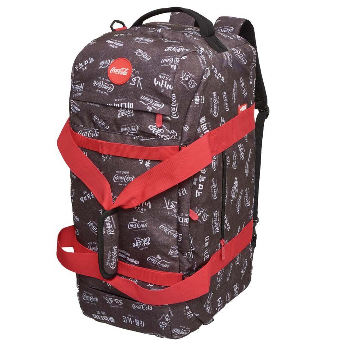 Bolsa de Viagem Coca Cola Cinza 6840526