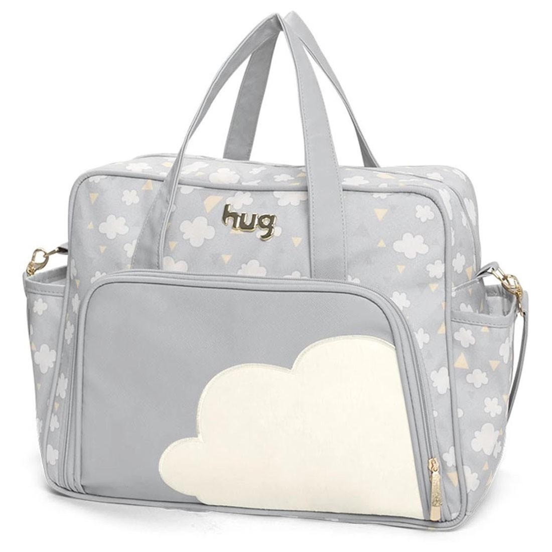 Bolsa Maternidade Hug Nuvens Grande com Trocador