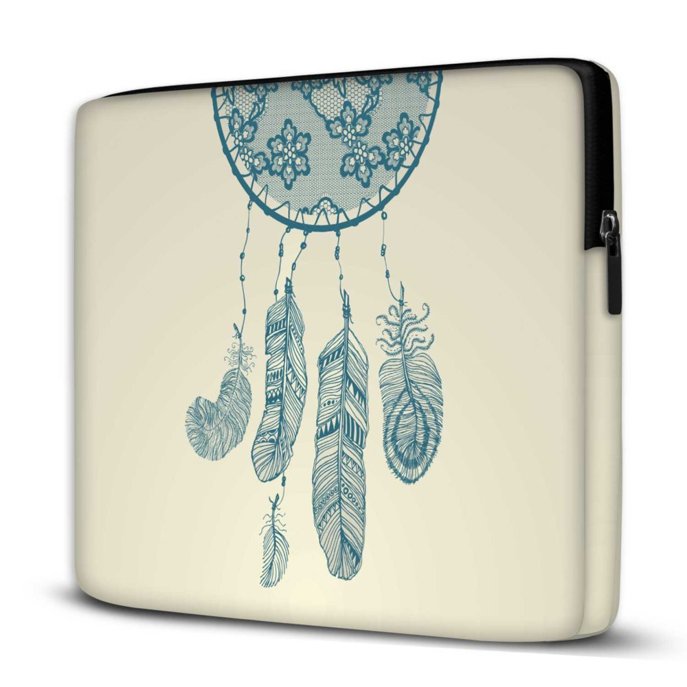 Capa para Notebook Filtro dos Sonhos 15.6 E 17 Polegadas Com Bolso
