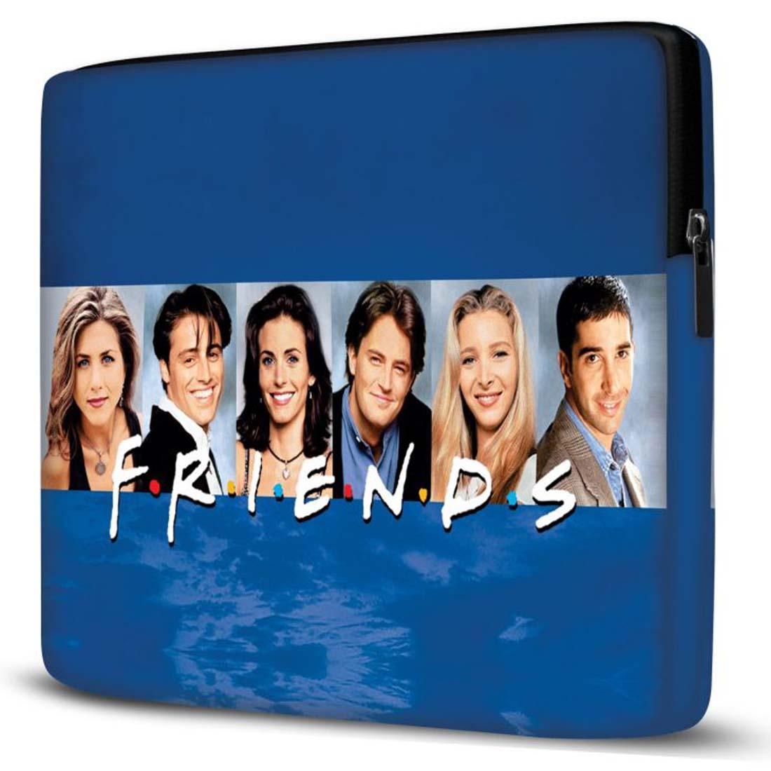 Capa para Notebook Friends 15 Polegadas Azul