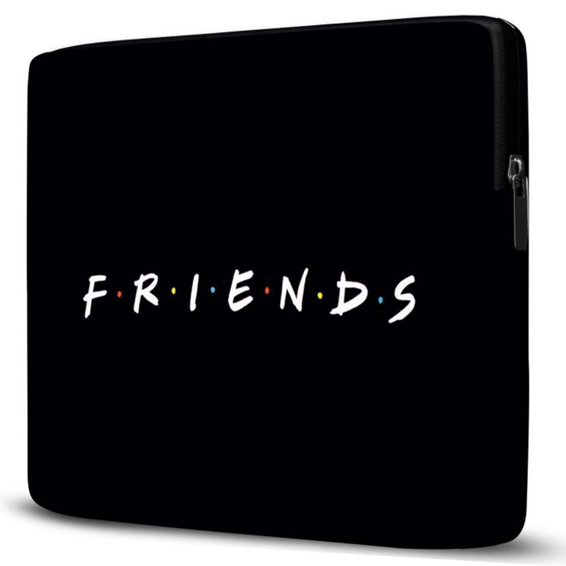 Capa para Notebook Friends 15 Polegadas Preto