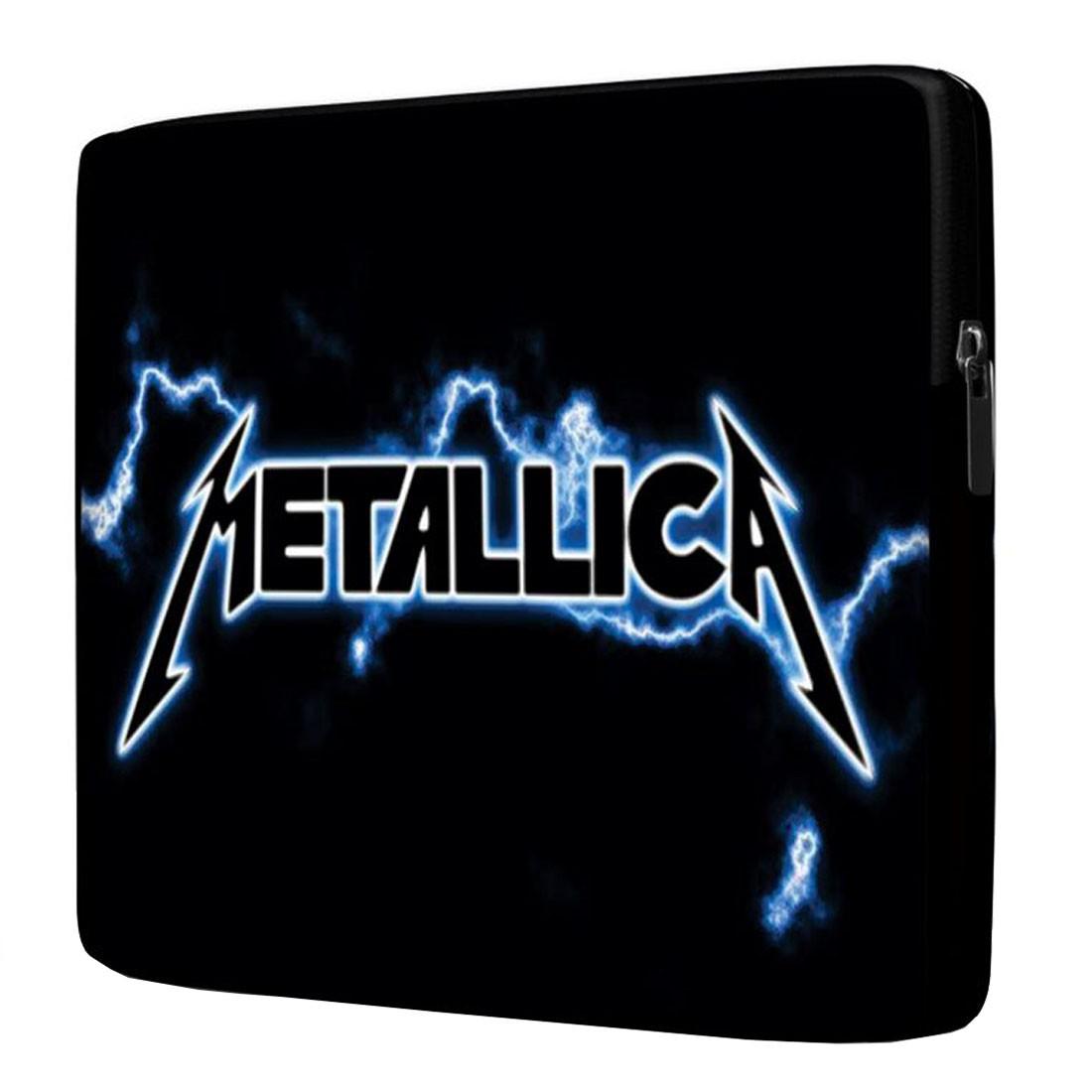 Capa para Notebook Metallica 15.6 À 17 Polegadas Com Bolso