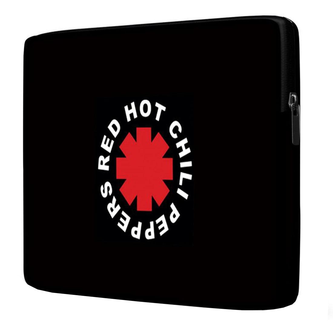 Capa para Notebook Red Hot Chili Peppers 15 Polegadas Com Bolso