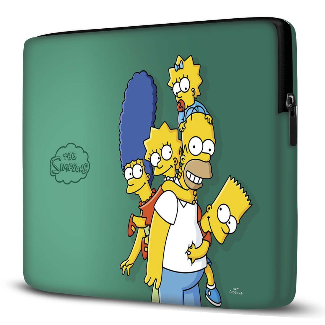 Capa para Notebook Simpsons Verde 15 Polegadas