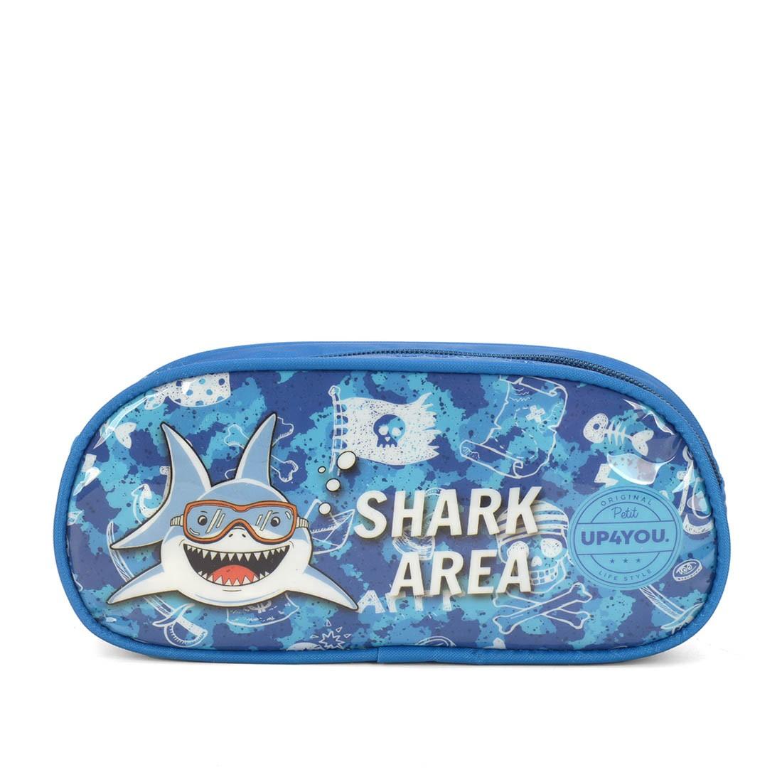 Estojo Infantil Tubarão EI35315UP-CZ