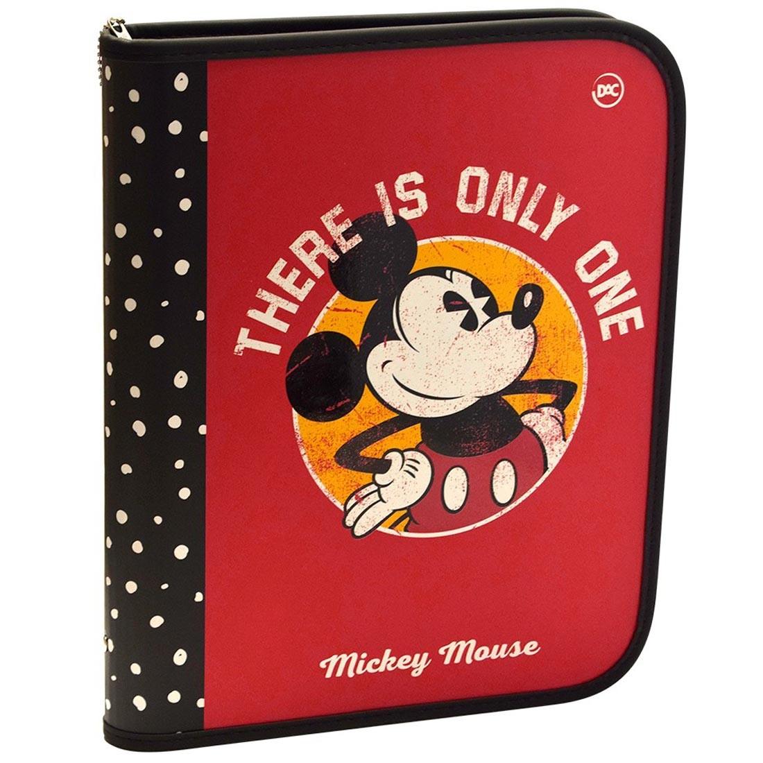 Fichário Escolar Mickey Com 48 Folhas