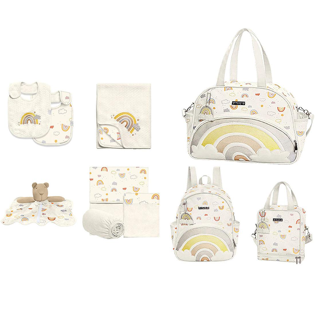 Kit Maternidade Hug Arco-íris