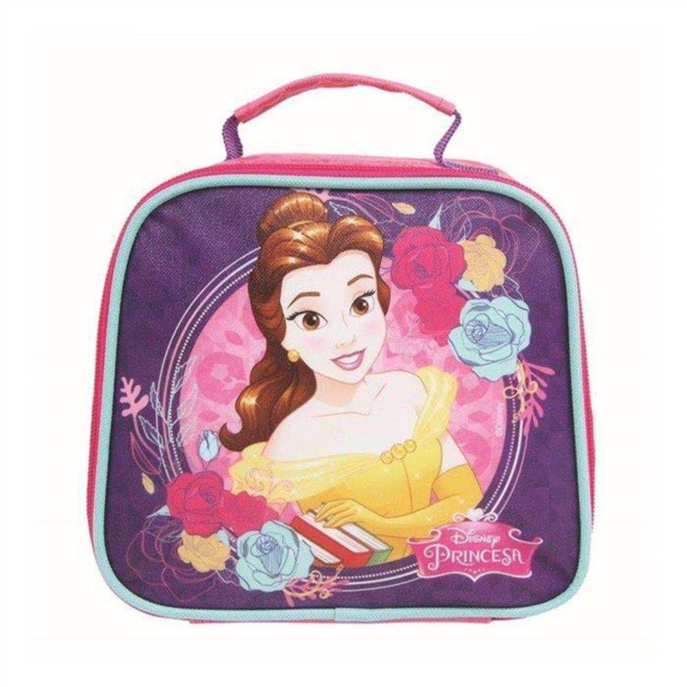 Lancheira Infantil Princesa Bella e a Fera 30007
