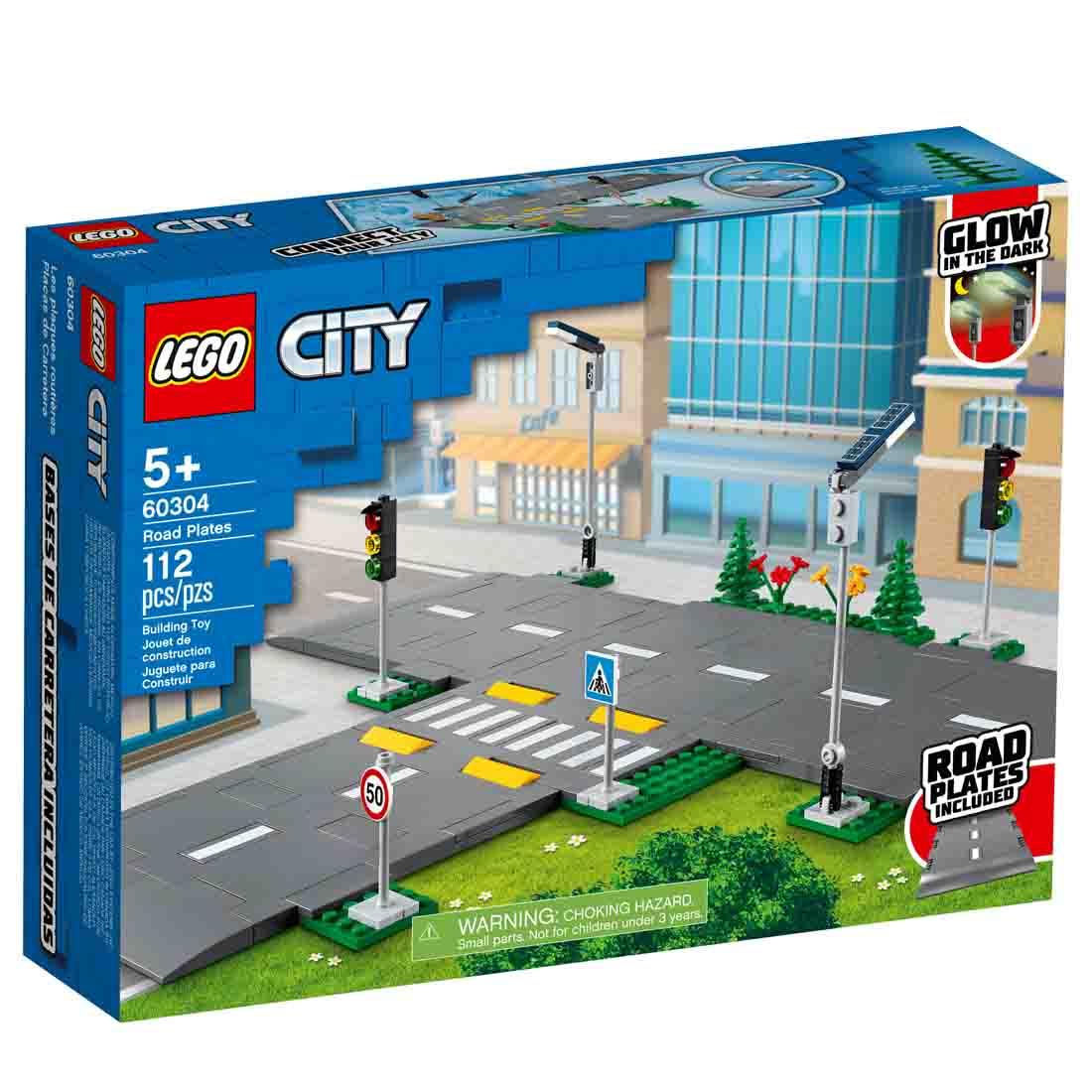 Lego City Cruzamento de Avenidas 60304
