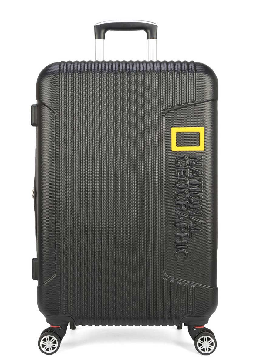 Mala Bordo National Geographic 360 TSA Pequena Preta
