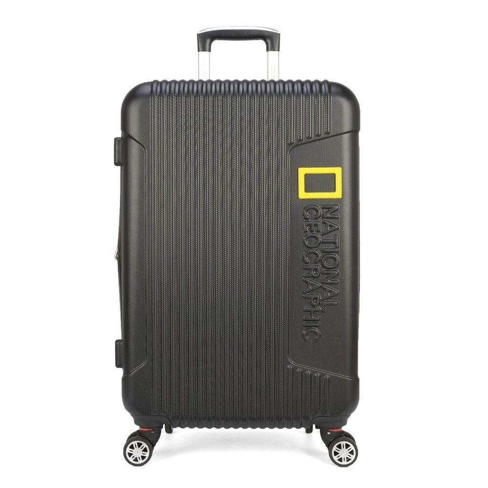 Mala de Viagem Média National Geographic 360 TSA Expansível Preta