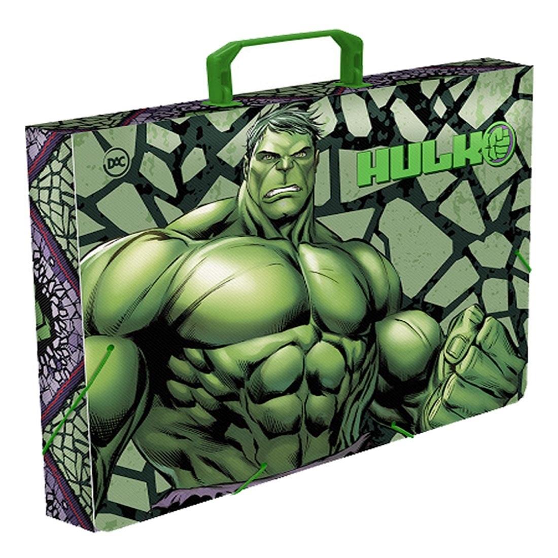Maleta Infantil Hulk Com Elástico
