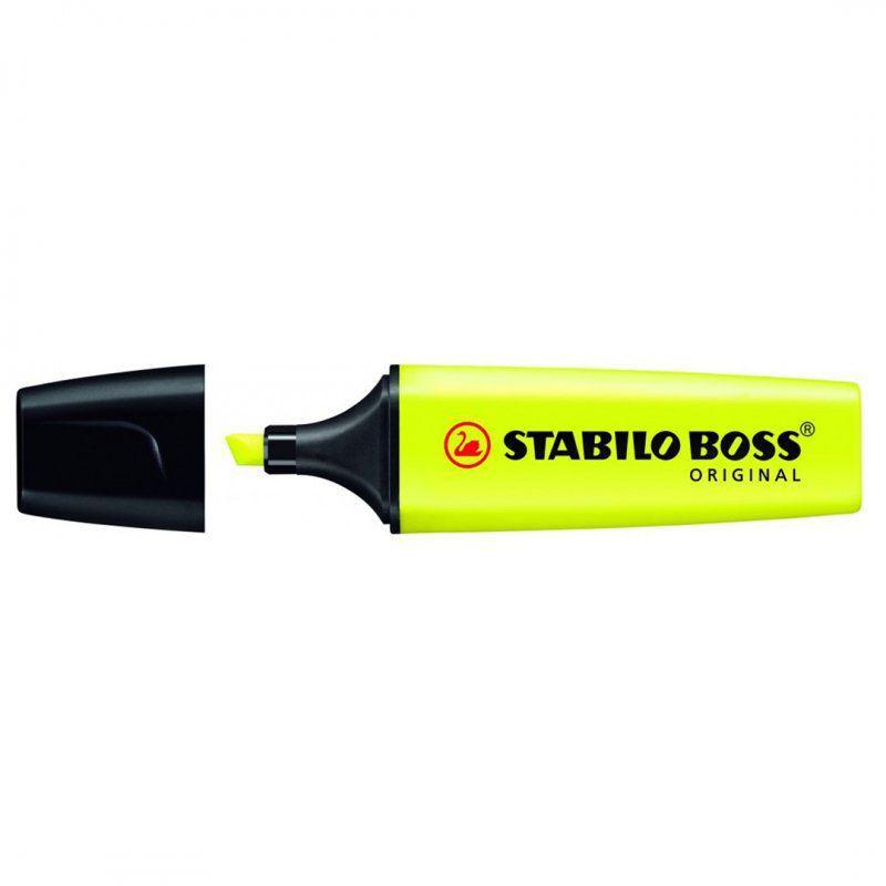 Marca Texto Stabilo Boss Neon C/ 4