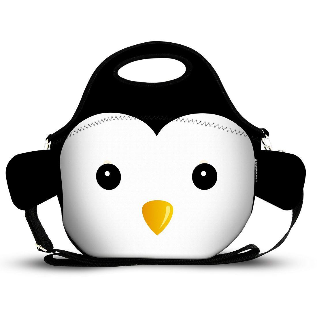 Mini Lancheira Pinguim