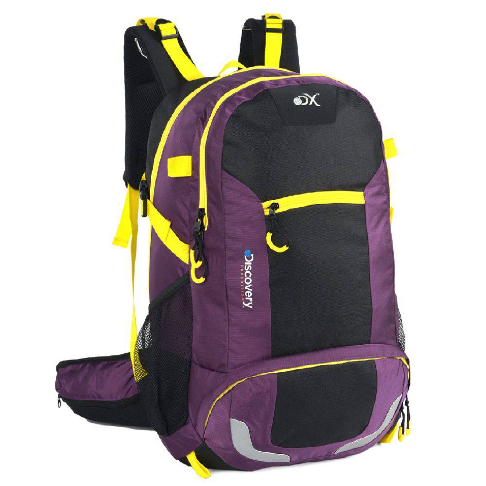 Mochila Camping Discovery Adventures 45L Roxa