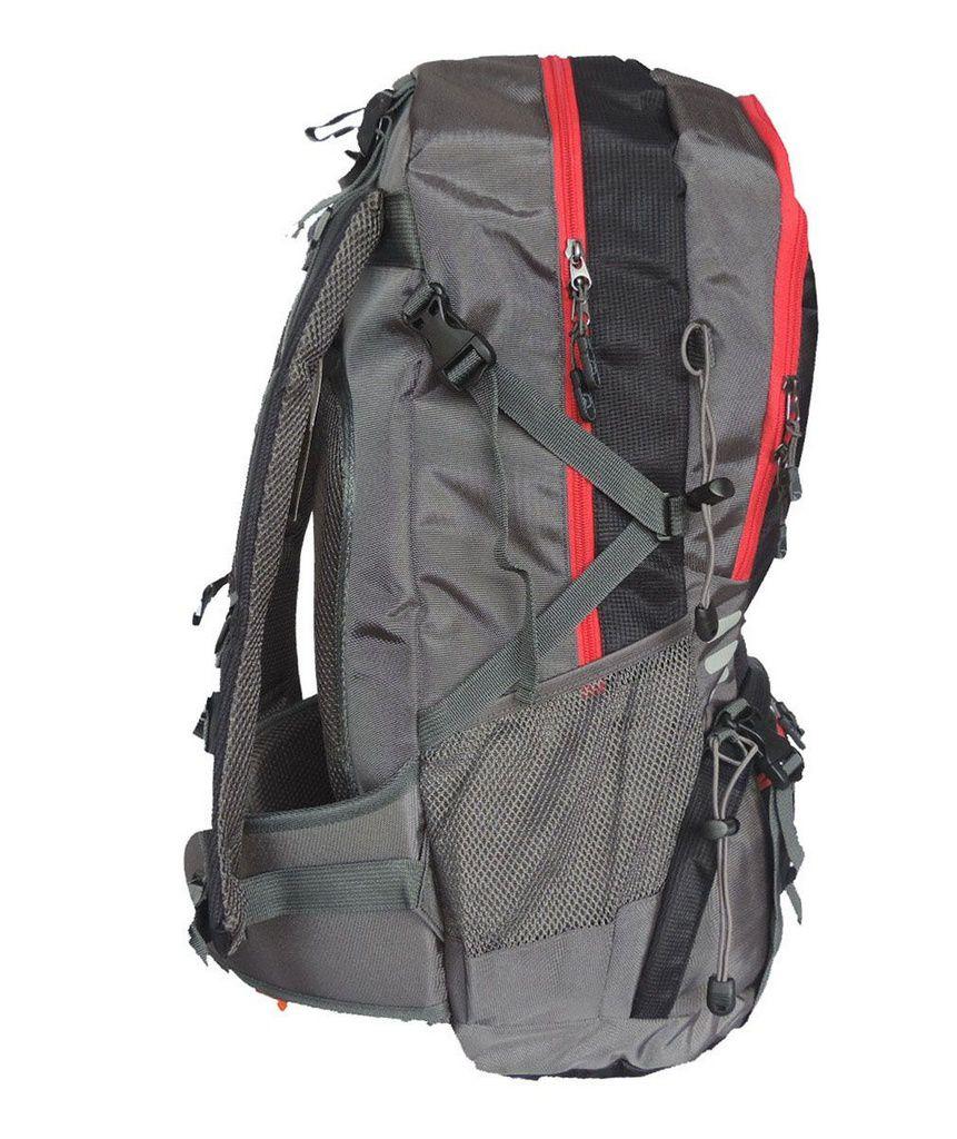 Mochila Camping Discovery Adventures Com Capa 45L