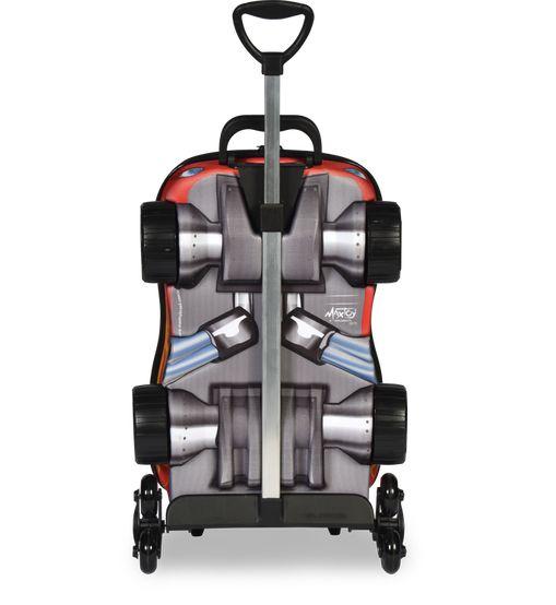 Mochila com rodinhas 3d Chrome Wheels V8 Original 2018 com Lancheira