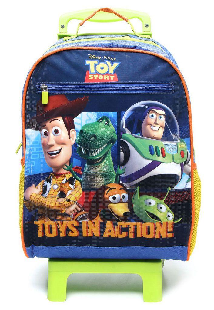 Mochila com Rodinhas Toy Story com Lancheira