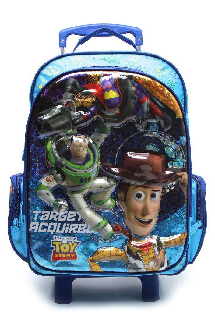 Mochila com Rodinhas Toy Story com Lancheira G