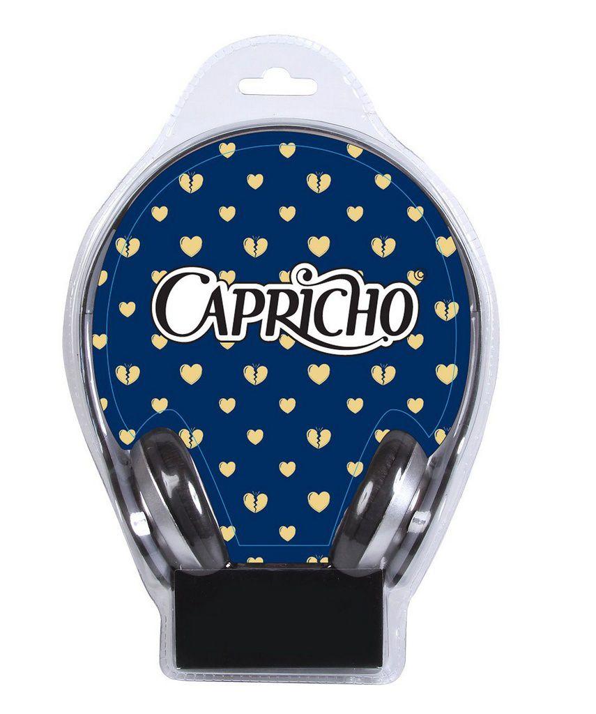 Mochila de Costas Capricho com Fone 11368
