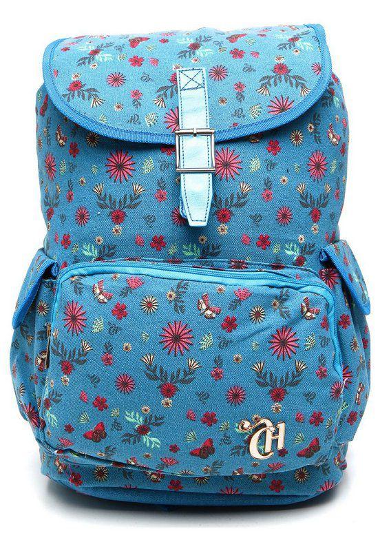 Mochila de Costas Capricho Liberty  Azul 11007