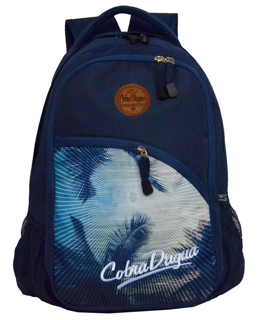 Mochila de Costas Cobra D'água Azul CDM188002