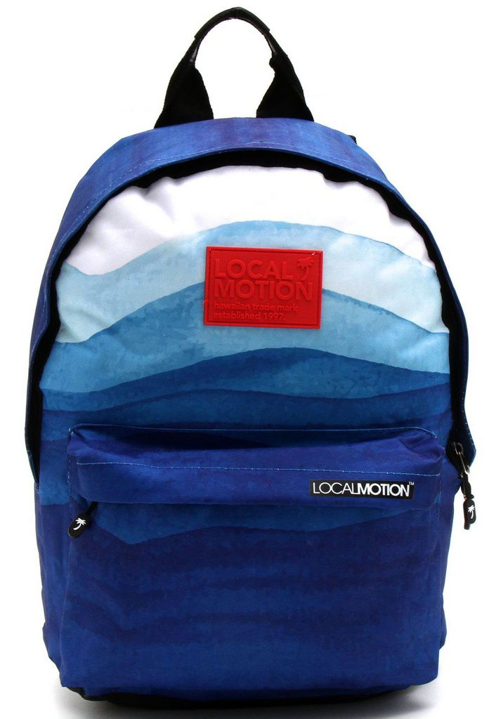 Mochila de Costas Local Motion Hawaii Ondas do Oceano LMM1800500