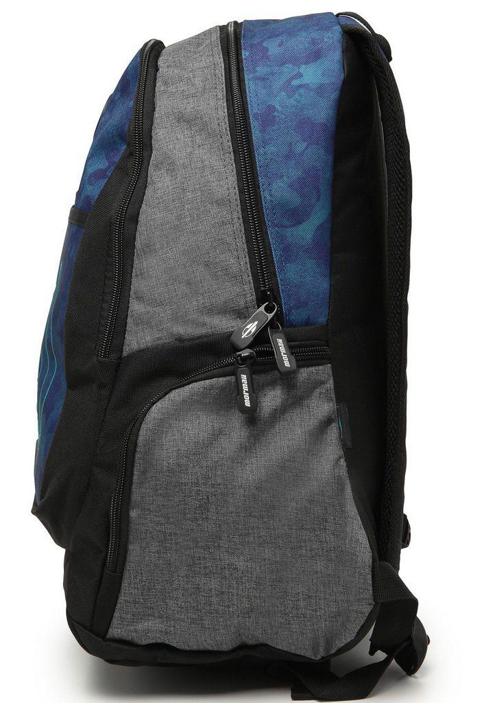 Mochila de Costas Mormaii Deep Camo Azul e Cinza MDCA102101