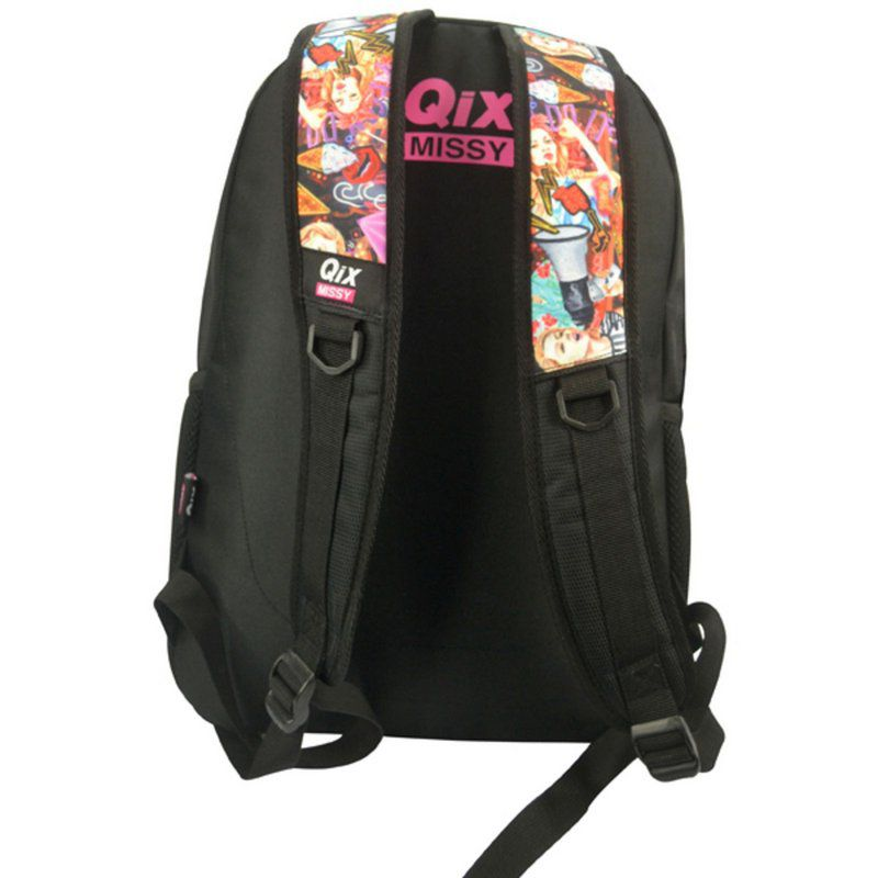 Mochila de Costas Qix Origin Preto QMIS93801