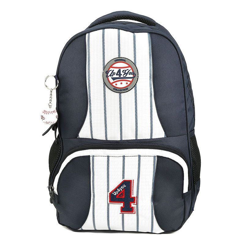 Mochila Escolar Up4you Baseball Listras MS45472UP