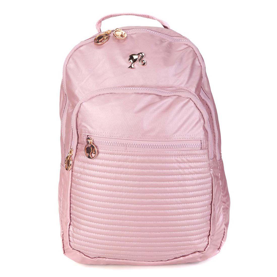 Mochila Escolar Barbie Para Notebook MJ48726BB
