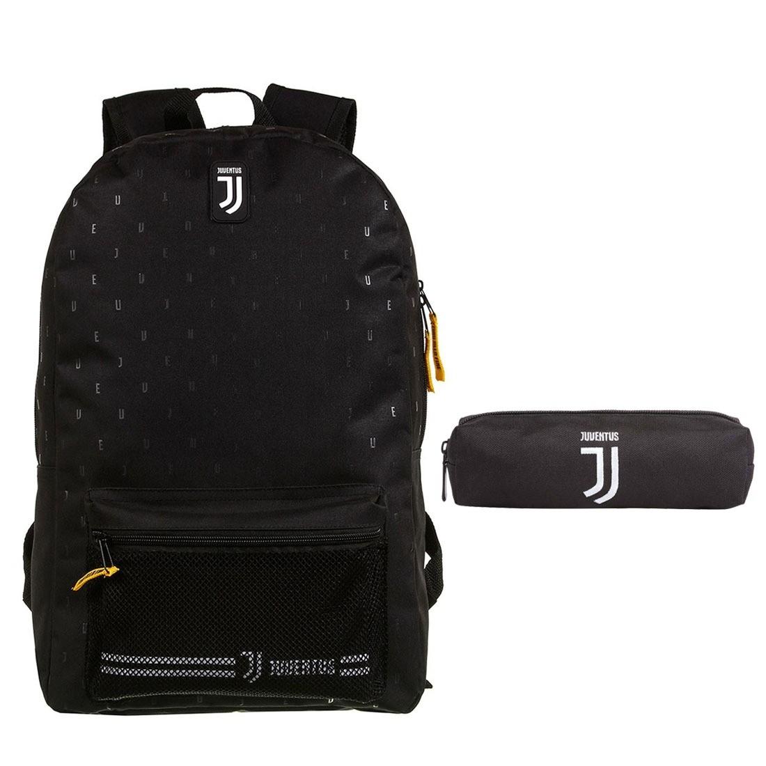 Mochila Escolar Juventus com Estojo