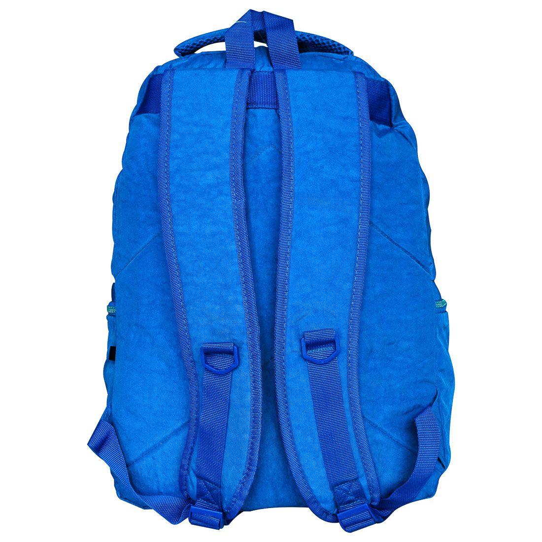 Mochila Escolar para Notebook Seanite Azul ML14008