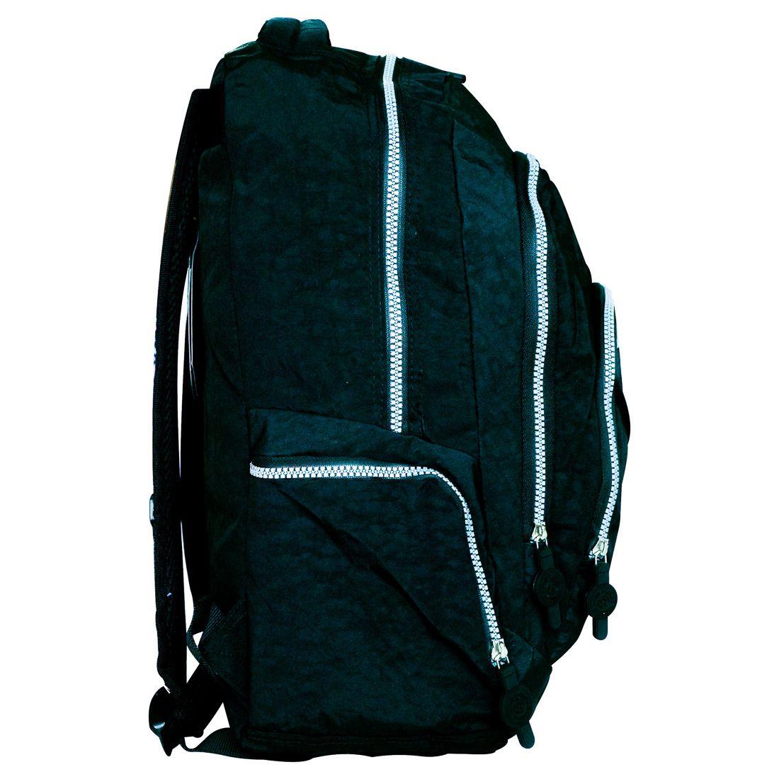 Mochila Escolar para Notebook Seanite Preta ML14008