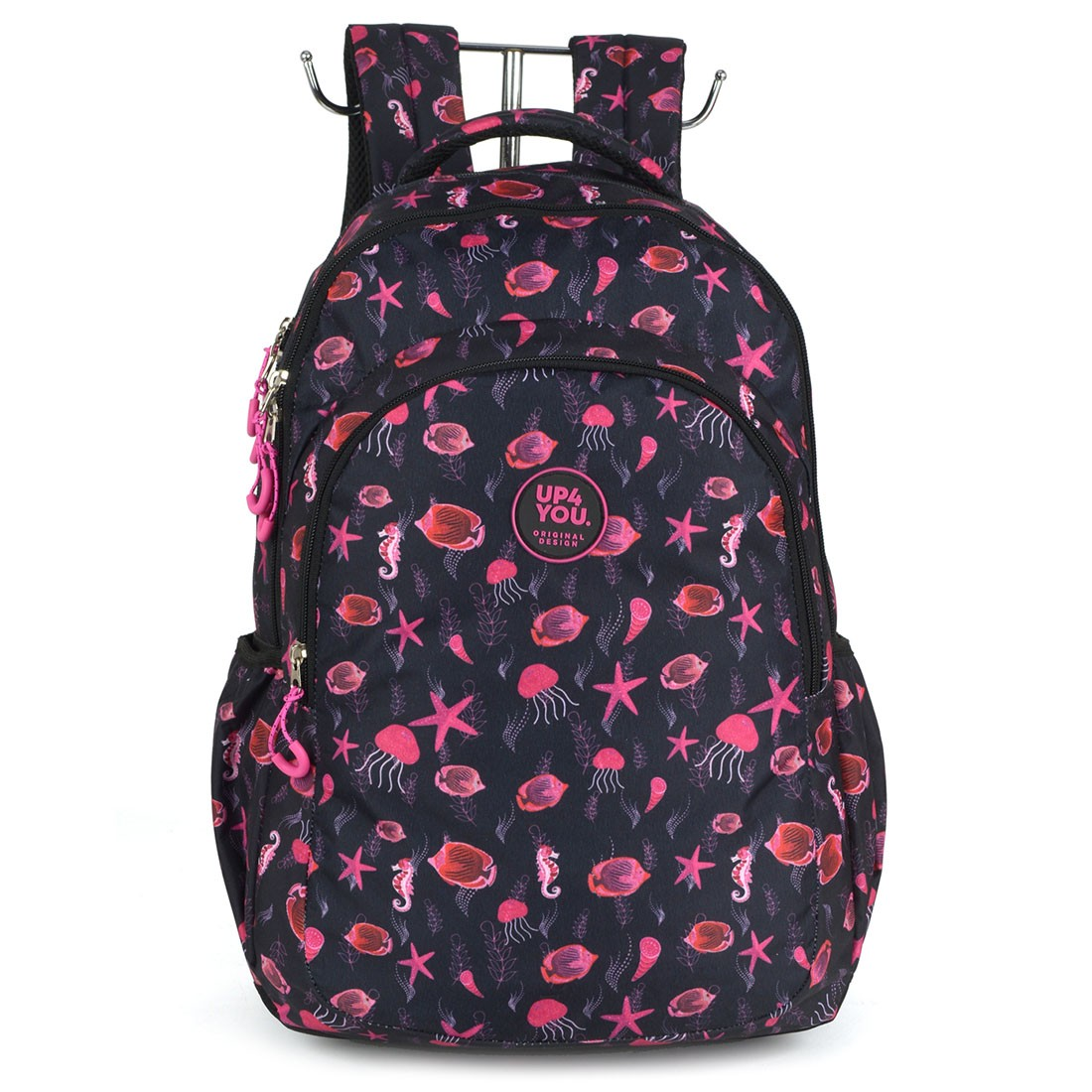 Mochila Escolar para Notebook Up4You MJ48859UP-PT