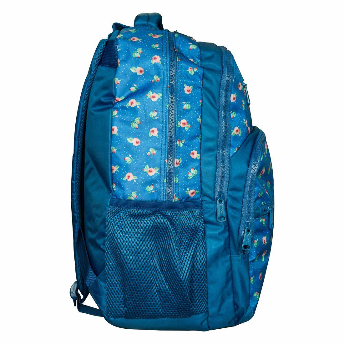 Mochila Escolar Seanite Azul Florida MJ14020