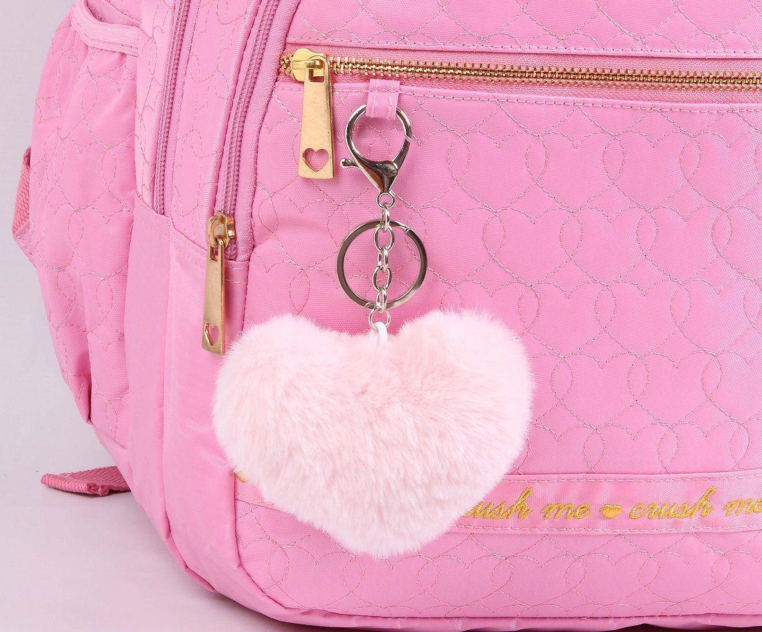 Mochila Feminina Capricho Love Rosa 11356