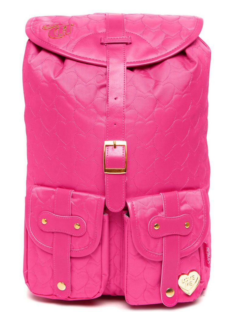 Mochila Feminina Capricho Matelassê Pink 10988