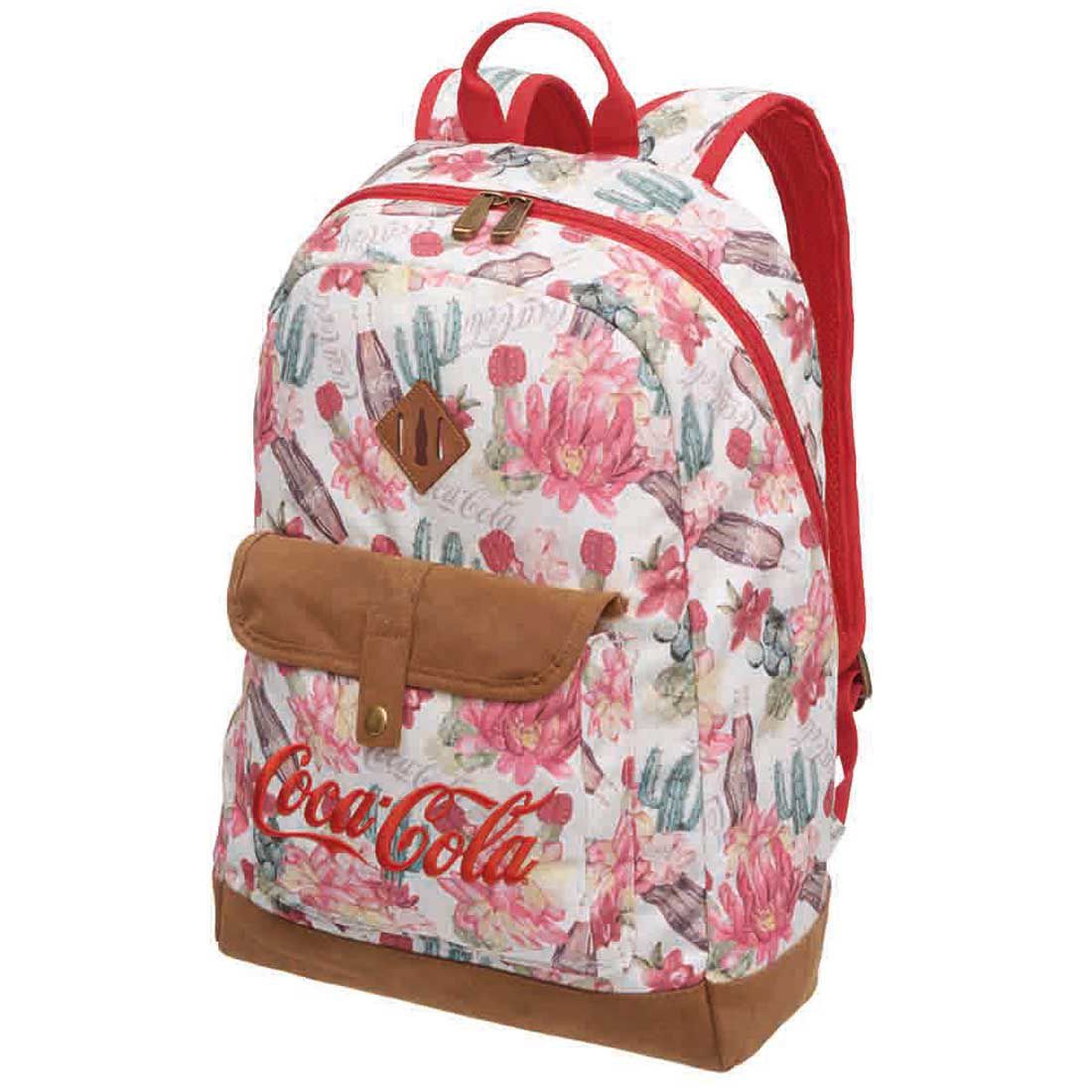 Mochila Feminina Coca Cola Desert 7841504