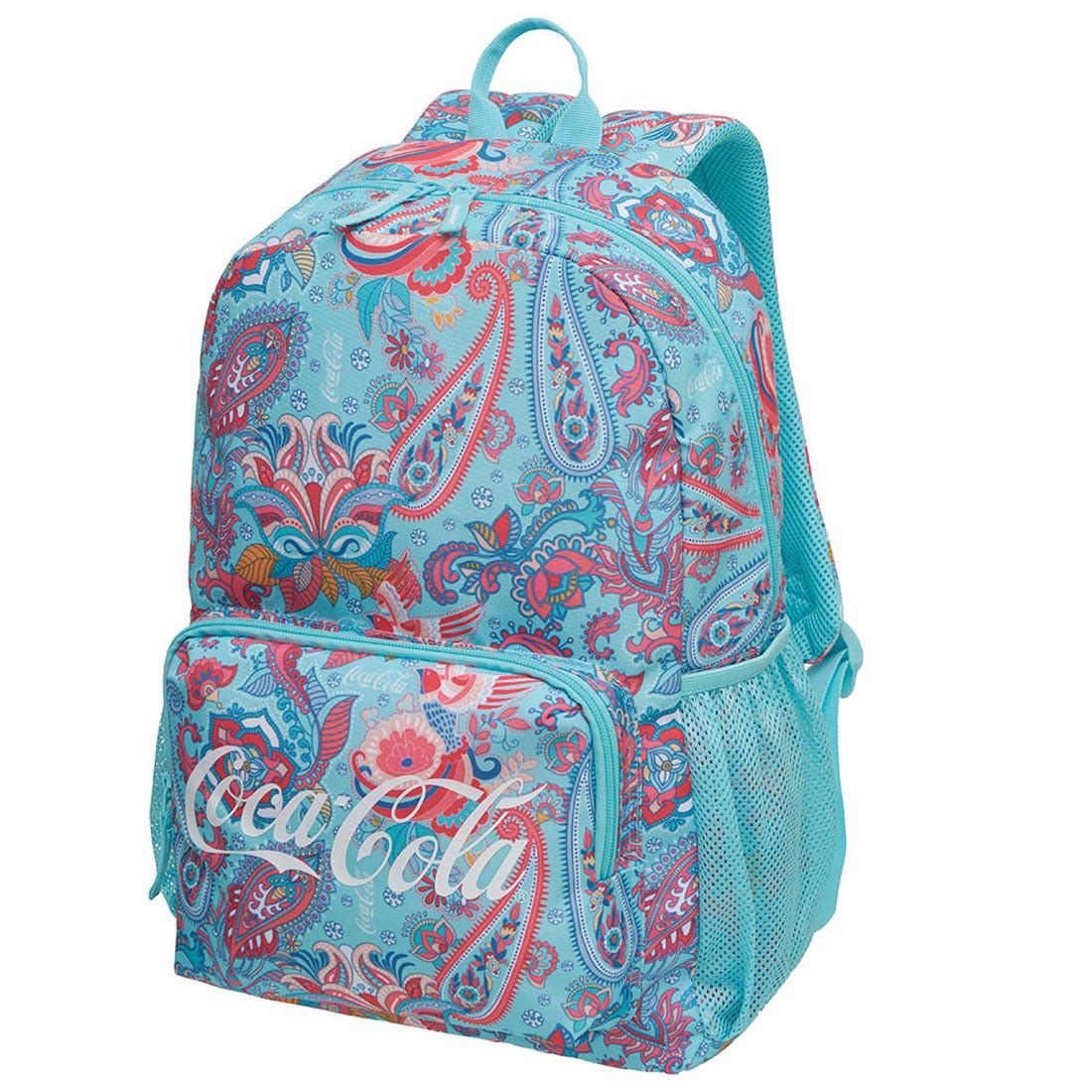 Mochila Feminina Coca Cola Folk