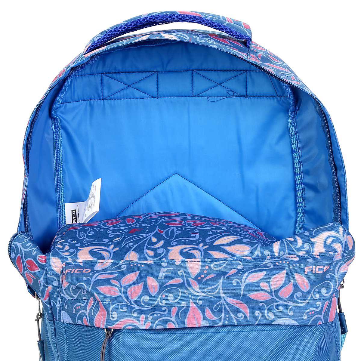 Mochila Feminina Fico Azul MS45676FC-AZ