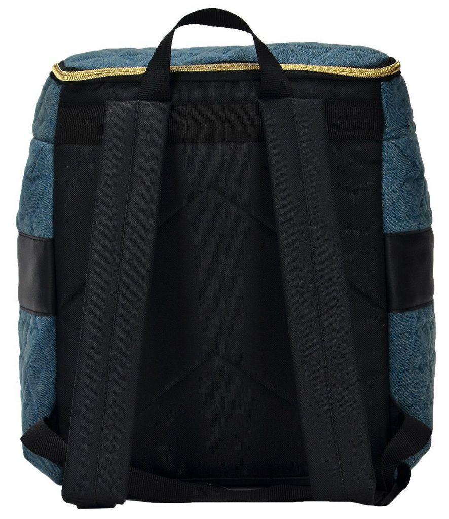 Mochila Feminina Onbongo Jeans Azul ONM1810323
