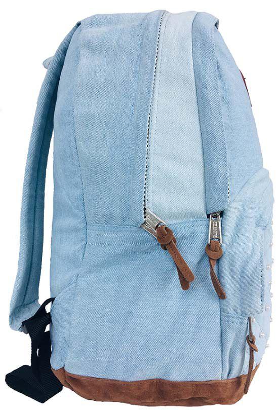 Mochila Feminina Seanite Jeans Céu MJ14035