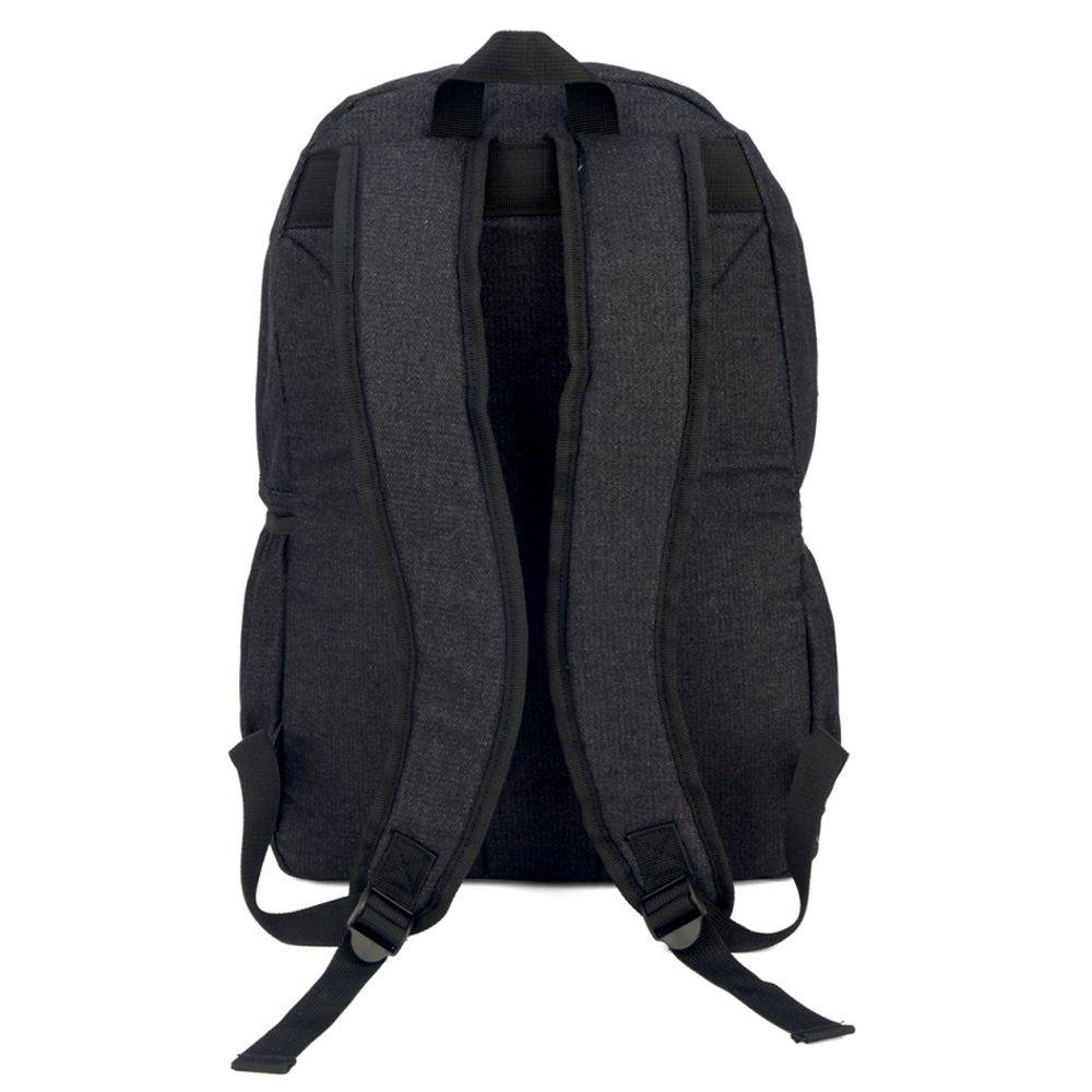Mochila Feminina Up4you Maisa Jeans Preto Ms45599UP-PT