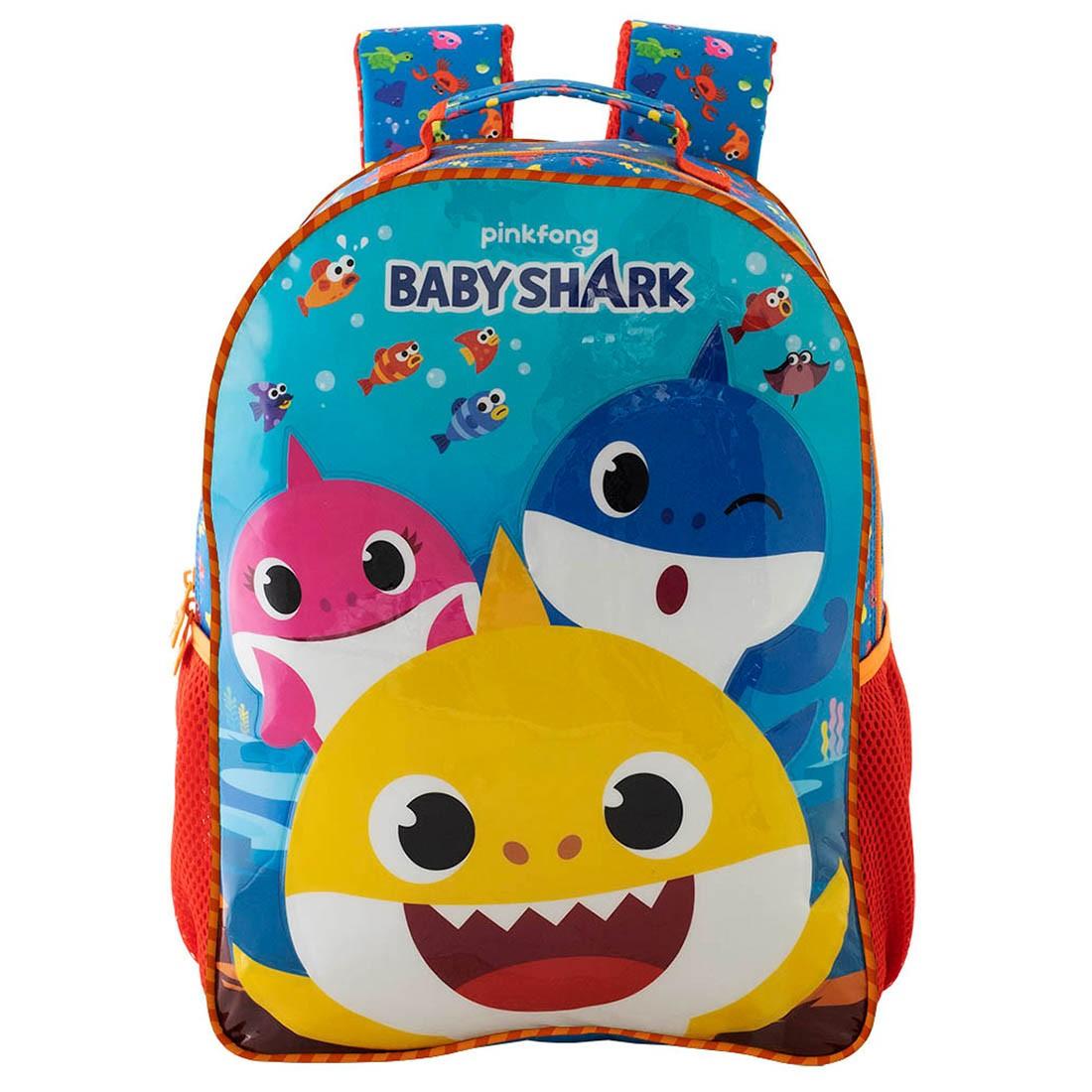 Mochila Infantil Baby Shark